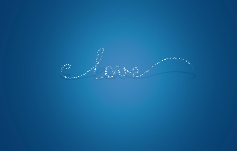 Photo wallpaper light, love, text, shadow, love