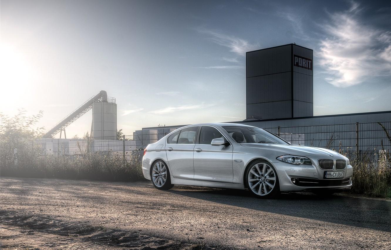 Photo wallpaper BMW, F10, 5 Series, 520d