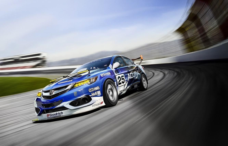 Photo wallpaper sport, NASA, Acura, Acura, 2015, ILX, Endurance Racer