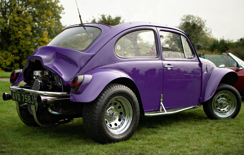 Photo wallpaper beetle, Volkswagen, 1971, VW Beetle