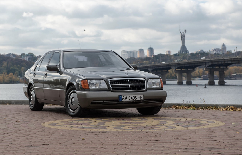 Photo wallpaper Mercedes - Benz, 600, w140, sel