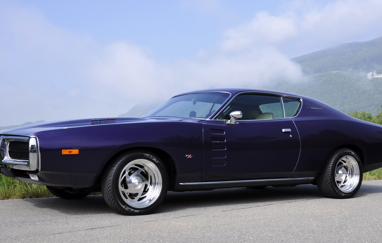 Photo wallpaper Dodge, Charger, 1972