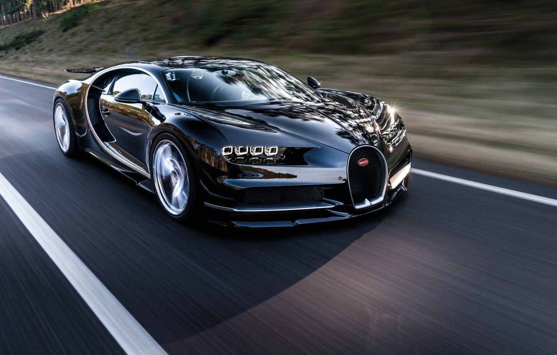 Photo wallpaper car, Bugatti, wallpaper, supercar, Bugatti, road, speed, hypercar, Chiron
