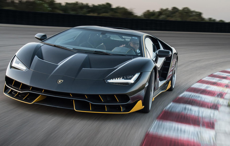 Photo wallpaper Lambo, new, Lamborghini, LAMBORGHINI, The front, CENTENNIAL