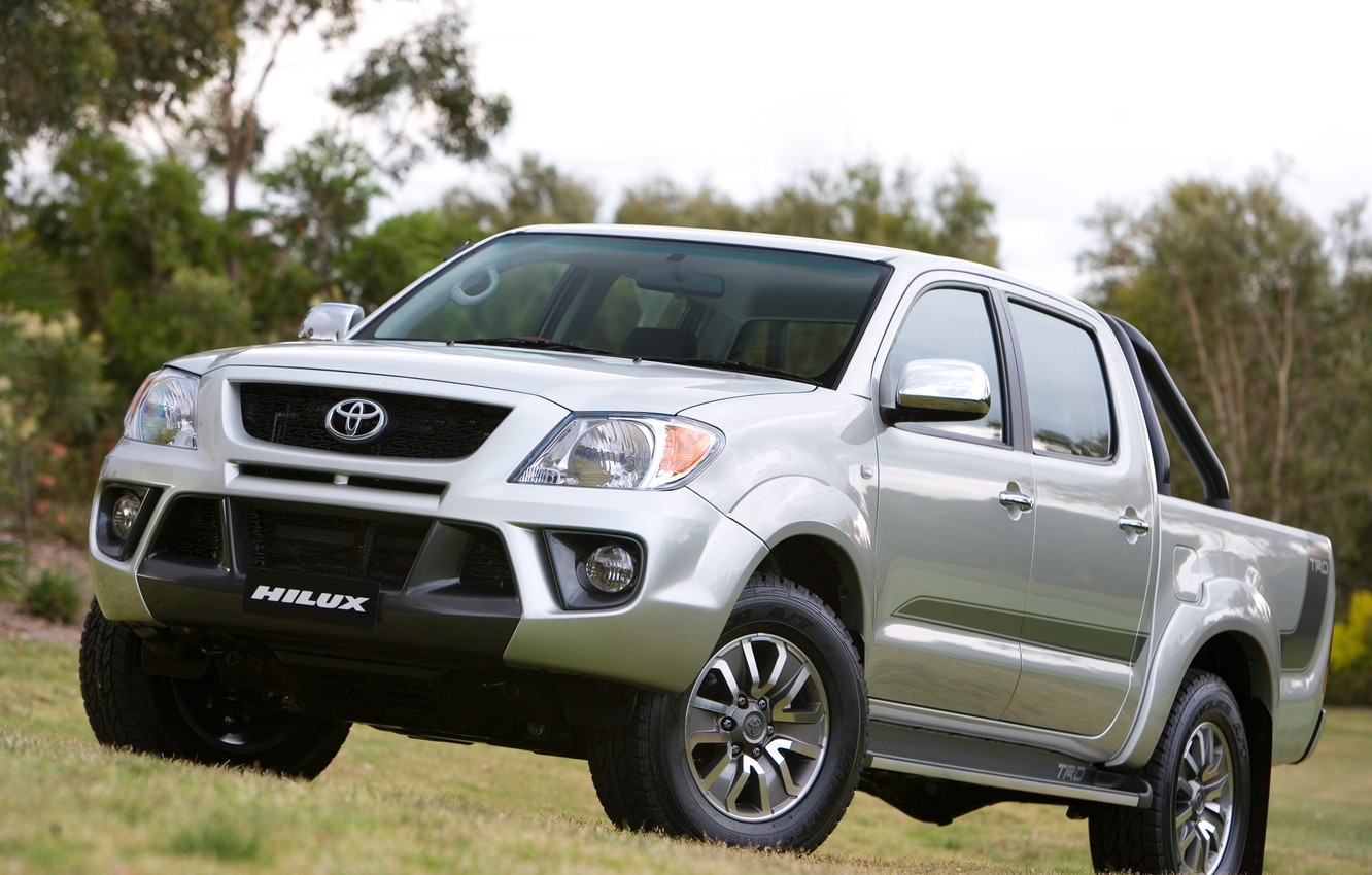 Photo wallpaper Japan, Wallpaper, Jeep, Japan, Toyota, Car, Pickup, Auto, Hilux, Wallpapers, SUV, Toyota, Hilux, TRD, TRD