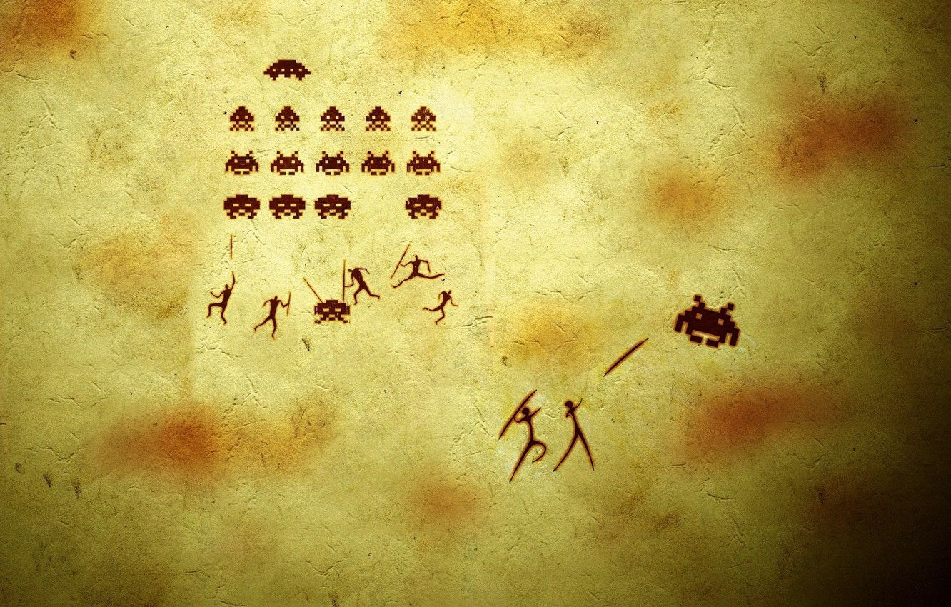 Photo wallpaper background, people, the game, humor, bugs, the trick, spears, shooter