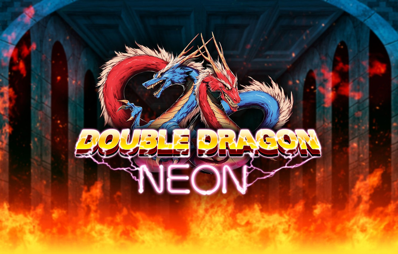 Wallpaper Fire Dragons Game Fire Games Double Dragon