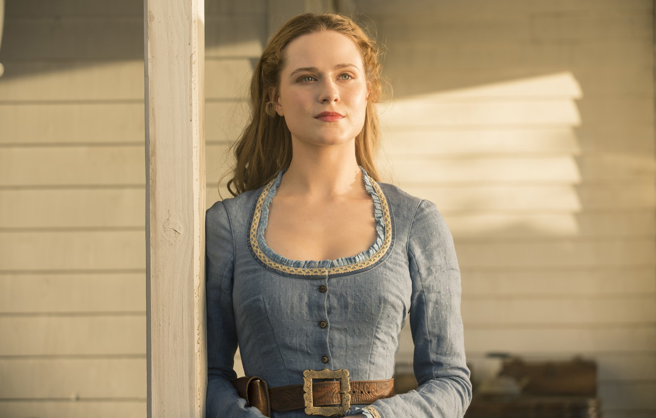 Photo wallpaper HBO, Westworld, The world of the wild West, Dolores, skial, Dolores