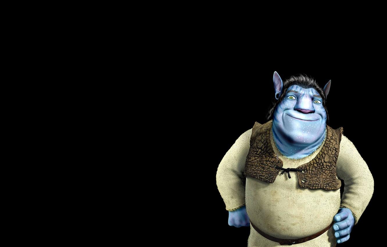 Photo wallpaper mood, avatar, the trick, Shrek