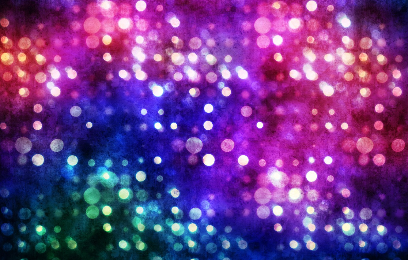 Photo wallpaper color, circles, paint, point, Abstraction, bokeh effect