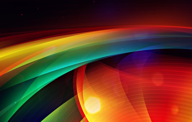 Photo wallpaper wave, strip, point, color, radar