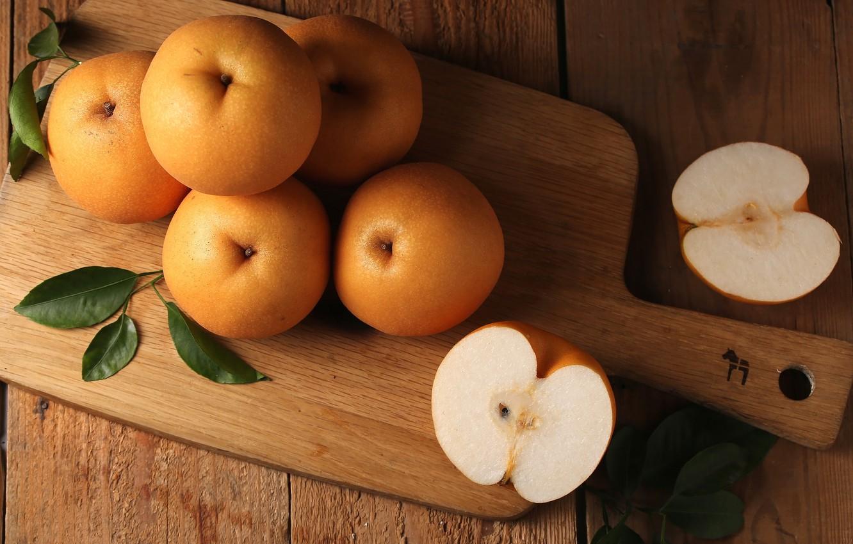 Photo wallpaper fruit, fruit, Chinese pear