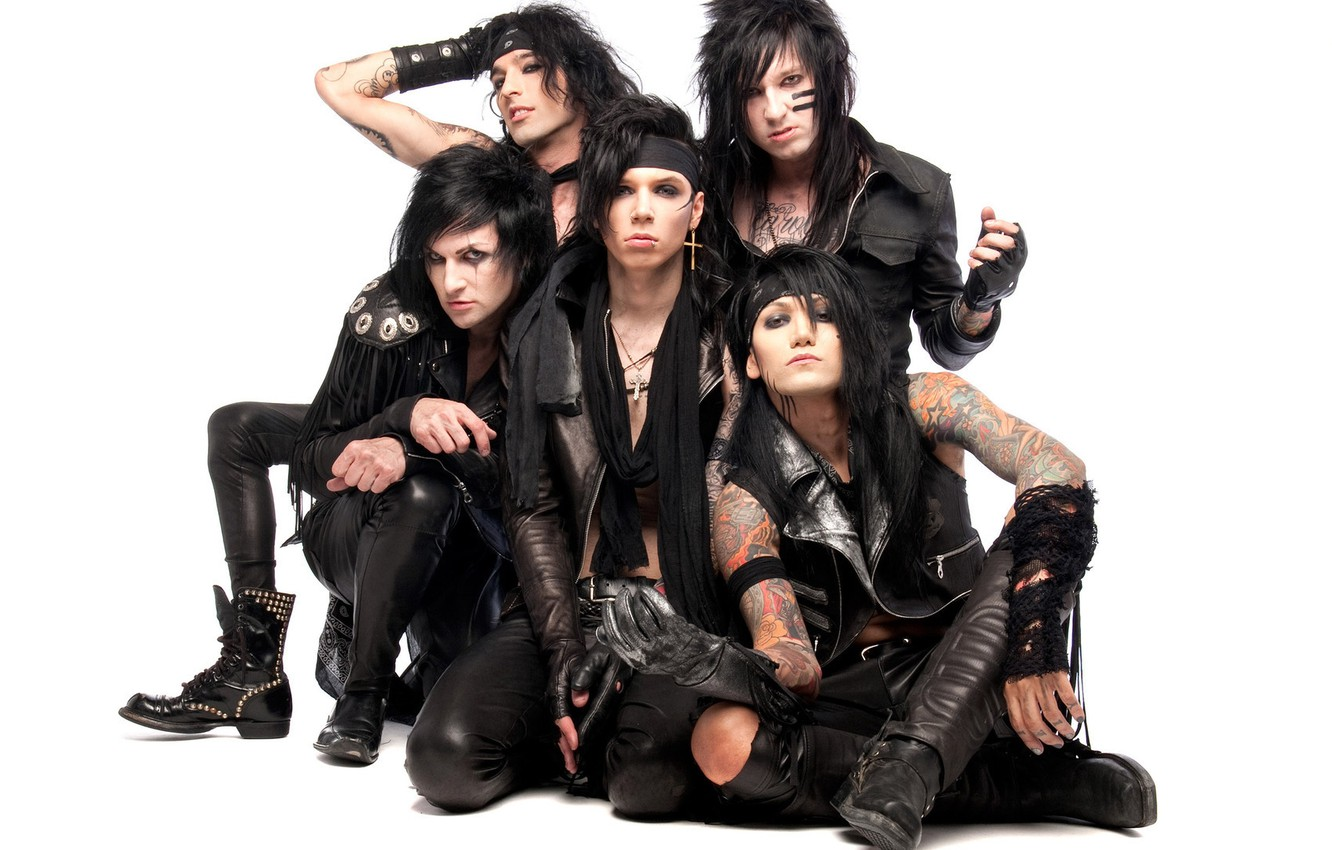 Wallpaper Rock Music Black Veil Brides Jinxx Jake Pitts Andy Biersack Ashley Purdy Images For Desktop Section Muzyka Download
