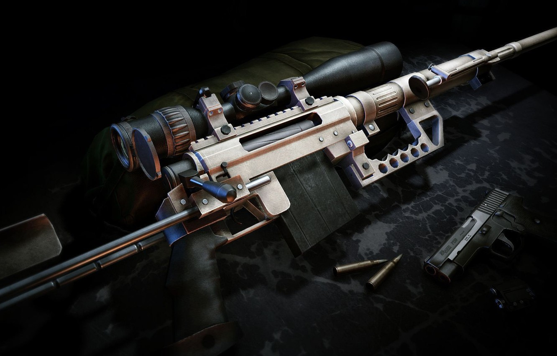 Photo wallpaper weapons, guns, cartridges, sniper rifle, Sniper Ghost Warrior 2, CheyTac m200 Intervention
