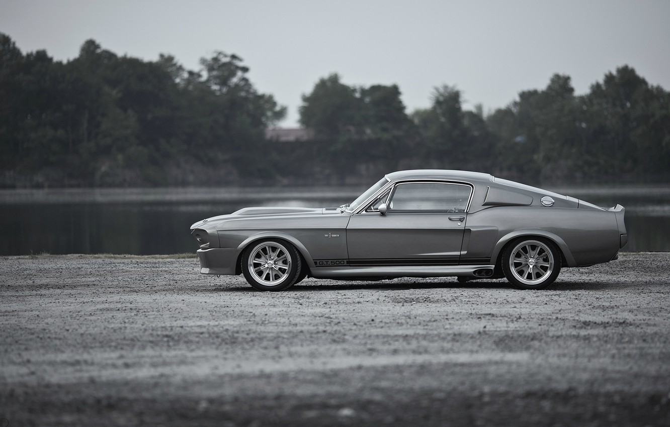 Photo wallpaper Wallpaper, Mustang, Ford, Shelby, GT500, Eleanor, Ford, legend, muscle car, wallpapers