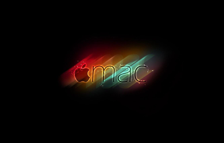 Photo wallpaper color, apple, mac