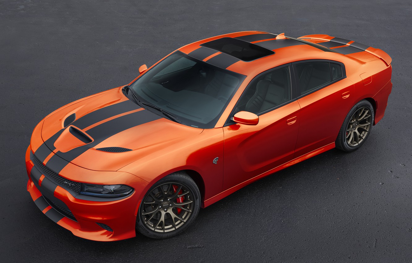 Photo wallpaper Dodge, Dodge, Charger, the charger, Hellcat, SRT