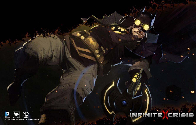 Photo wallpaper DC comics, Warner Games, Infinite Crisis, Gaslight Batman