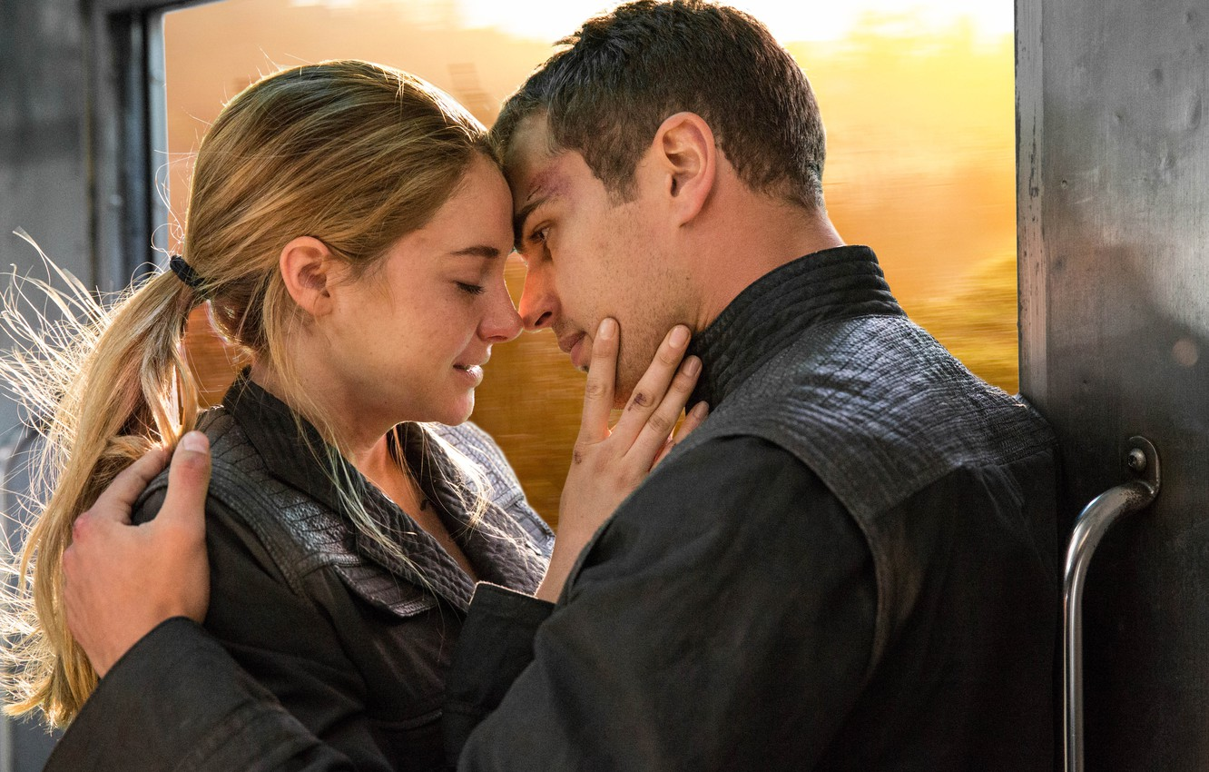 Together shailene theo and james woodley How are