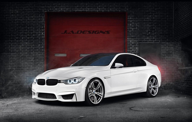 Photo wallpaper BMW, White, Concept Car, F82, By J.A.Designs, 2015 Coupe