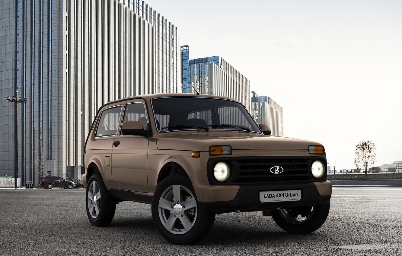 Photo wallpaper SUV, car, megapolis, Urban, Lada, 4x4, LADA, Niva, VAZ, crossover, a best-seller., urban, equipment