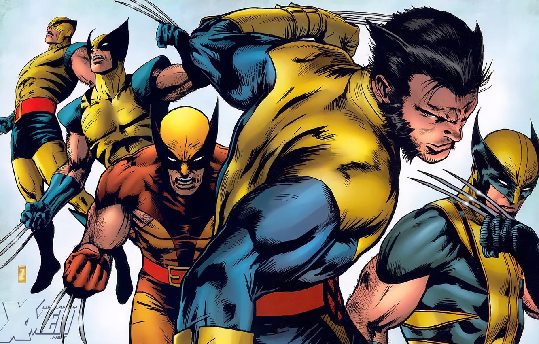 Wallpaper Wolverine Logan X Men Comic Marvel Comics James