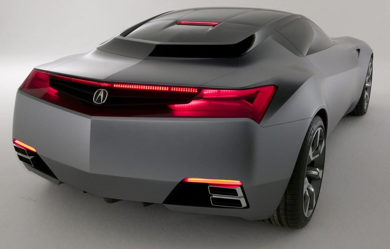 Photo wallpaper design, the concept, Acura