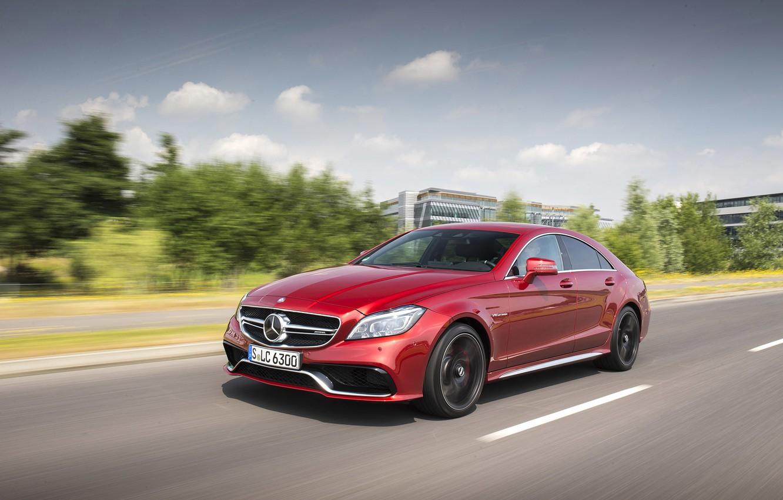 Photo wallpaper Mercedes-Benz, Mercedes, AMG, AMG, universal, C218, 2014, cls-class