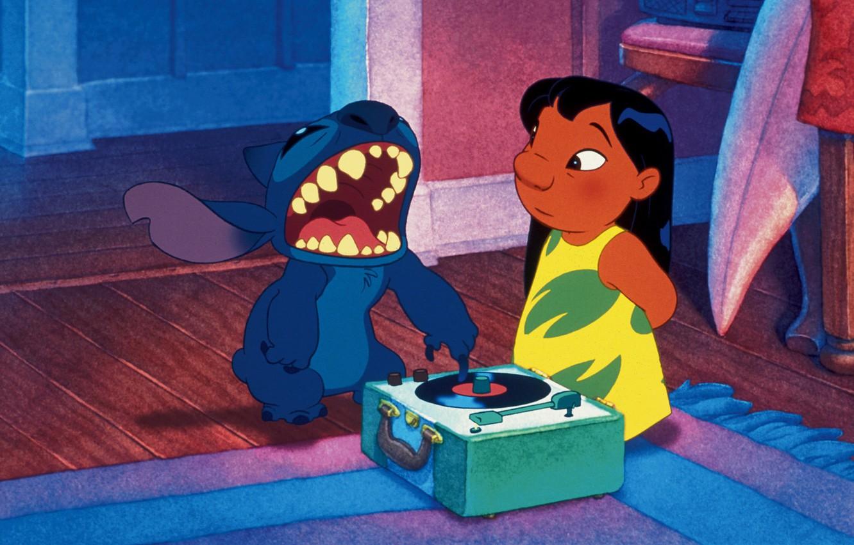Wallpaper Blue Freak I Love It Lilo And Stitch Stitch Stitch