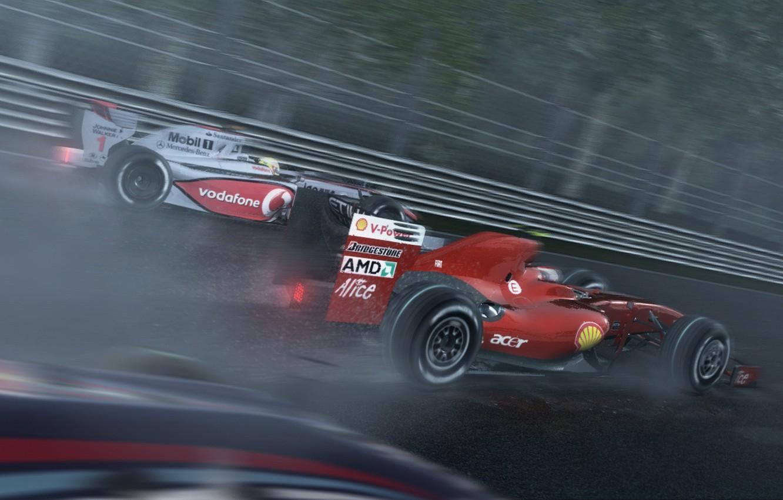 Wallpaper Ferrari Rain Race Mclaren Grand Prix Images For Desktop Section Igry Download