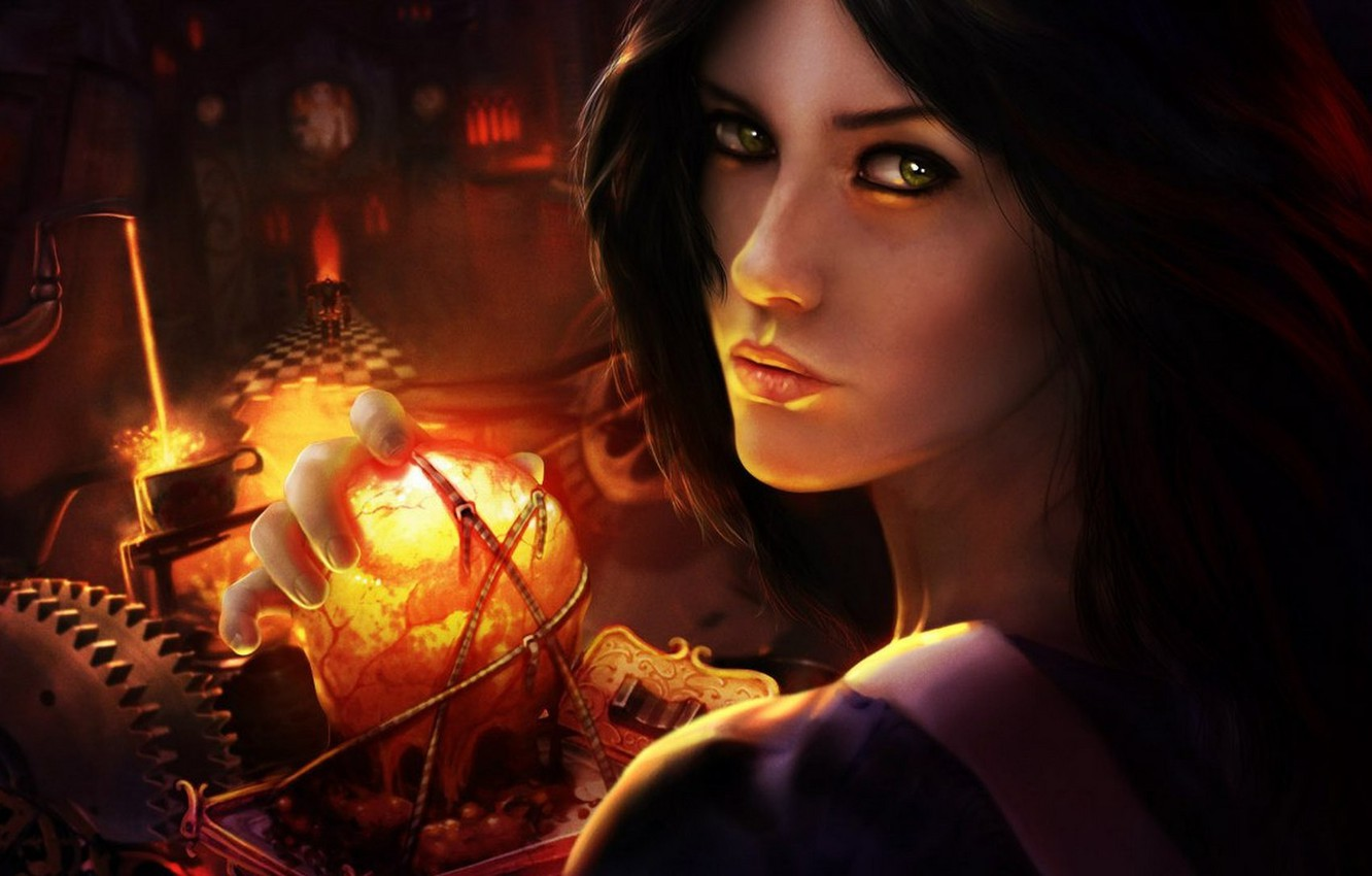 Photo wallpaper Wallpaper, the game, Alice, game, wallpapers, alice