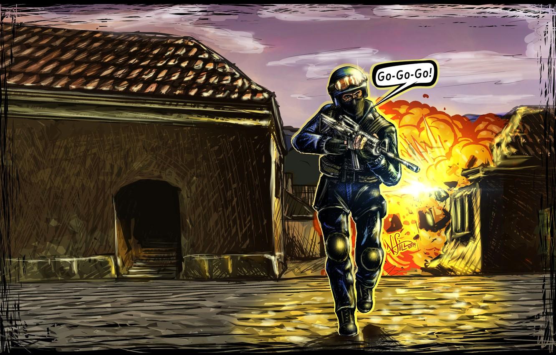 Photo wallpaper Counter Strike, 1.6, Source, CS1.6
