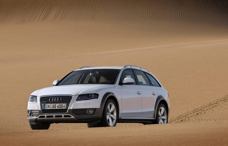 Photo wallpaper sand, auto, machine, Audi, desert, sands, deserts auto pictures