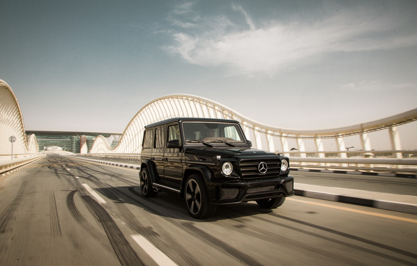 Photo wallpaper Mercedes-Benz, Mercedes, G-Class, 2014, W463, Ares Design