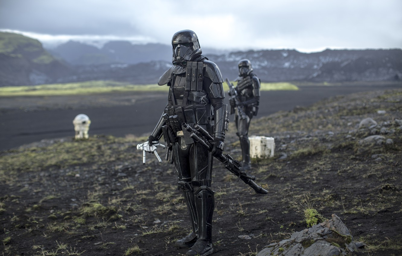 Wallpaper Background Form Rogue One A Star Wars Story Death Troopers Images For Desktop Section Filmy Download