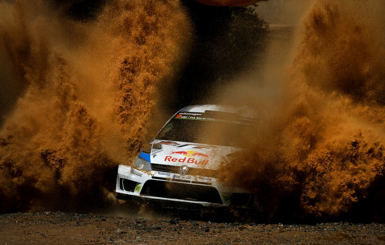 Photo wallpaper Volkswagen, Squirt, WRC, Rally, Rally, Volkswagen, Polo, Polo, Ford