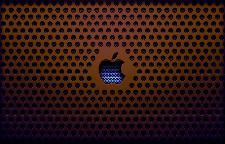 Photo wallpaper apple, grille, saver