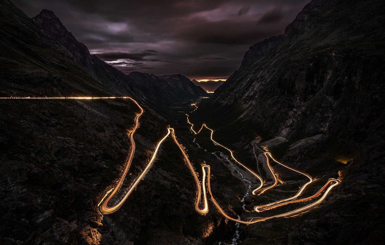 Wallpaper Scenery Time Lapse A Great Driving Road Images