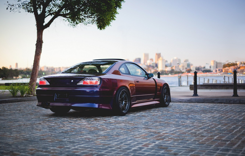 Photo wallpaper car, auto, tuning, S15, Nissan, tuning, Spec-R, Nissan Silvia