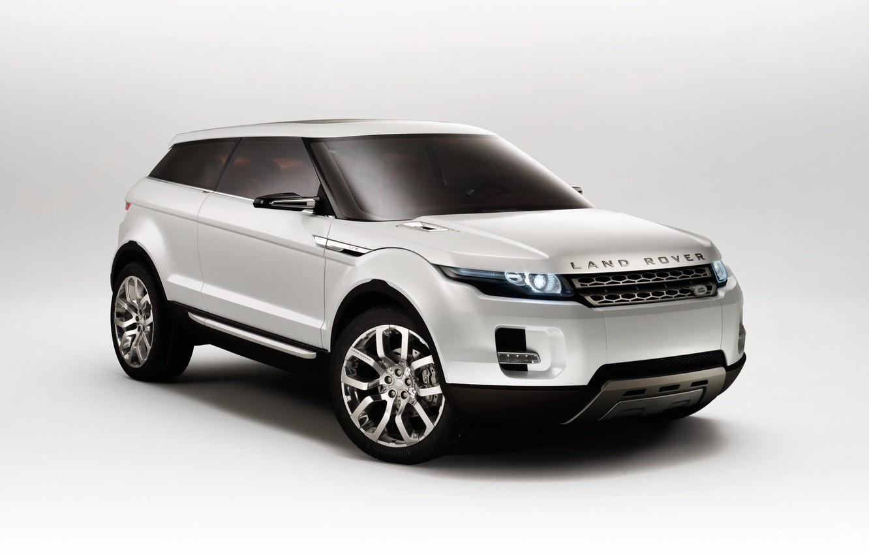 Photo wallpaper white, the concept car, Land Rover, LRX