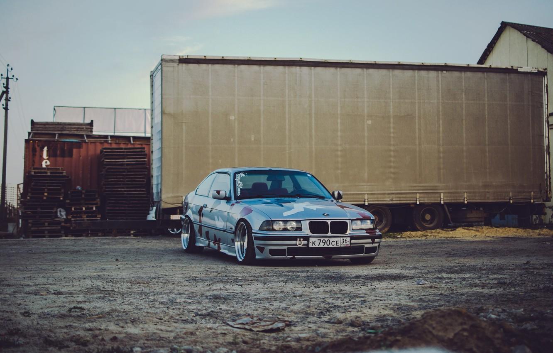Photo wallpaper BMW, E30