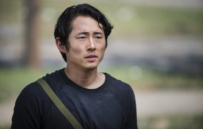Wallpaper The Walking Dead Steven Yeun The Walking Dead Glenn