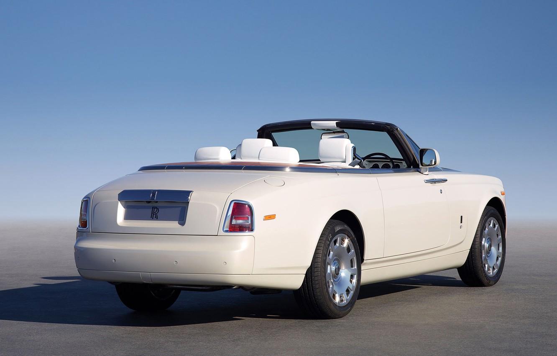 Photo wallpaper the sky, Rolls-Royce, convertible, limousine, rolls Royce