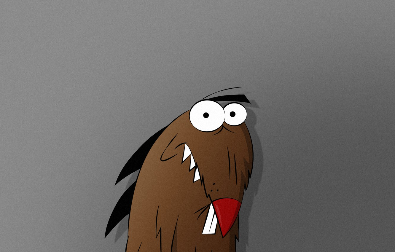 Photo wallpaper beaver, The Angry Beavers, Dagget