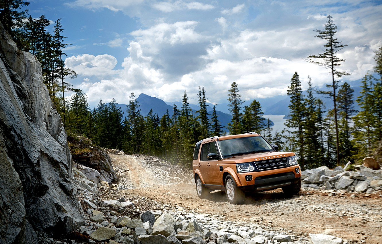 Photo wallpaper Land Rover, Discovery, discovery, land Rover