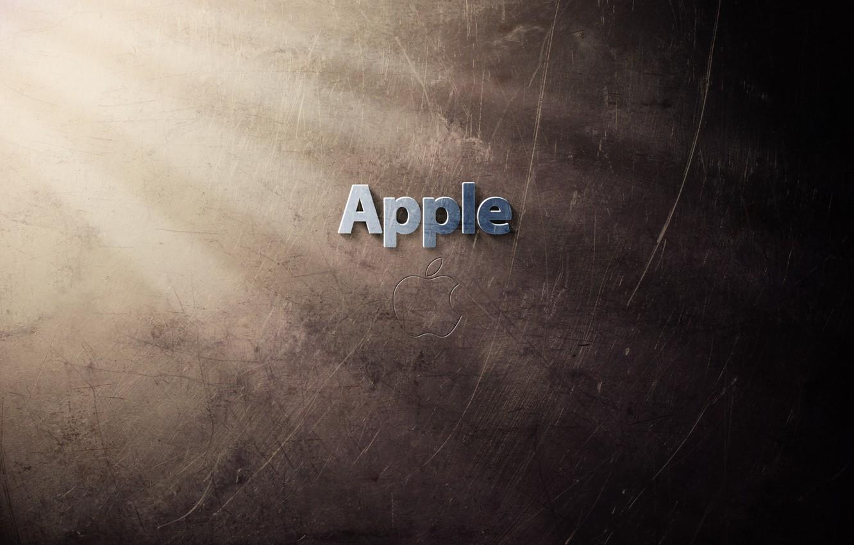 Photo wallpaper rays, light, wall, wall, apples, apple, Apple, minimalism, ray, texture, technique, fruit, America, fruit, texture, …