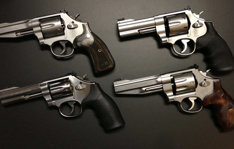 Photo Wallpaper Gun Weapon American Revolver SampW 45