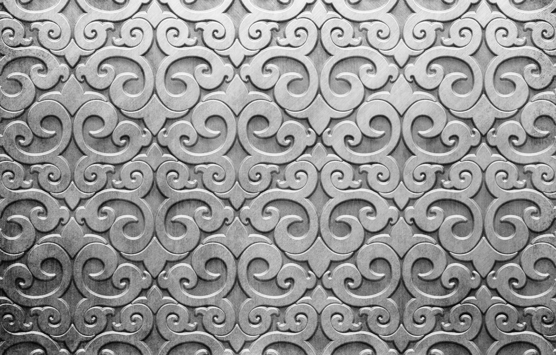 Photo wallpaper metal, pattern, silver, metal, texture, background, pattern, steel, metallic