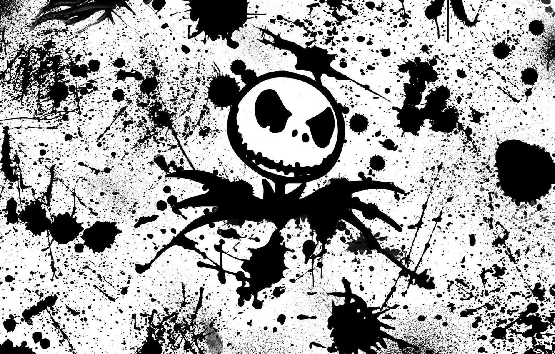 Photo wallpaper Horror, Skeleton, Jack Skellington, Nightmare, Scarecrow, Scarecrow, Skeleton