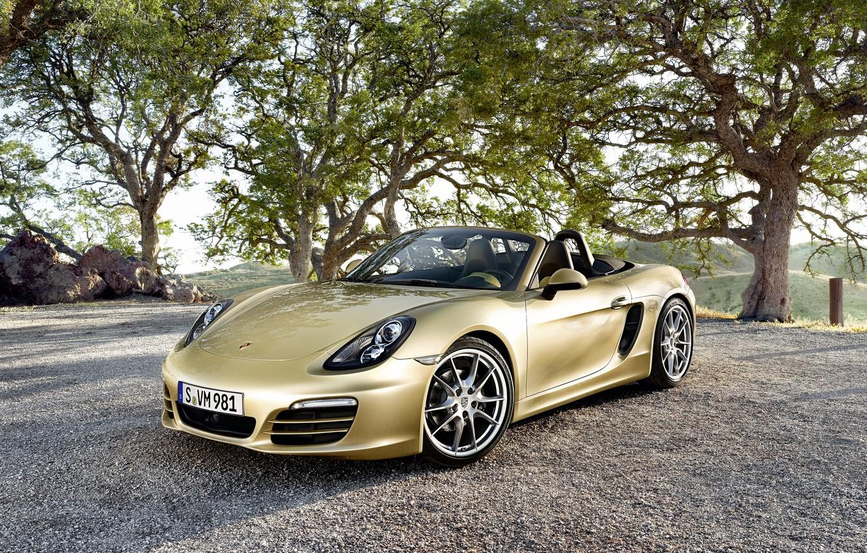 Photo wallpaper Porsche, convertible, Porsche, Boxster, bokster